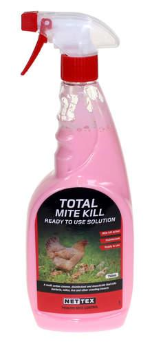 Nettex Total Mite Kill Ready to use Solution - 750ml