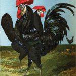 Black Spanish Chickens