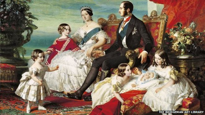 Queen Victoria, Prince Albert Children