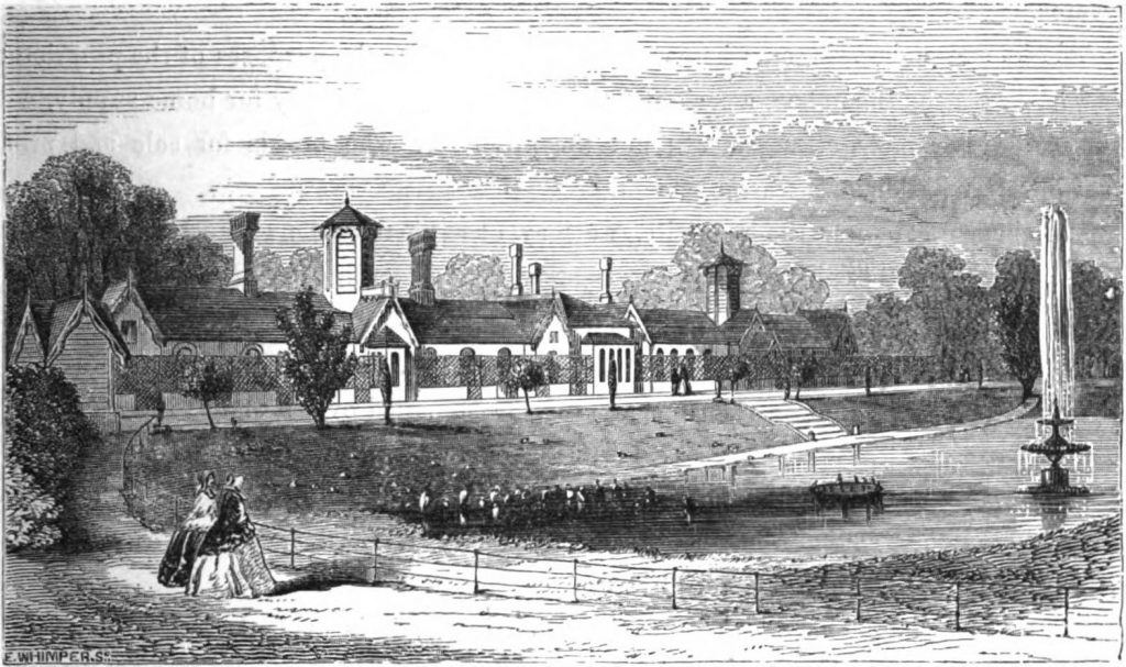Queen Victoria's Poultry House at the Home Farm
