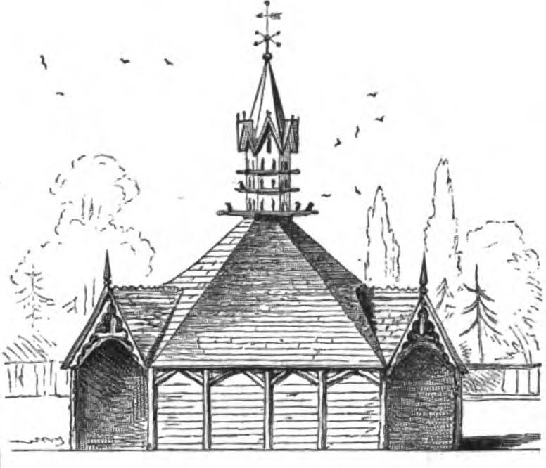 Victorian Poultry House