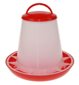 1kg Plastic Poultry Feeder with Handle