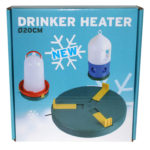 Eton Poultry Drinker Heater - 20cm