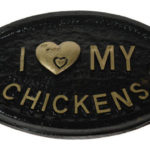I Love my Chickens Sign from Omlet