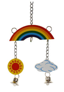 Rainbow Mobile for Chickens