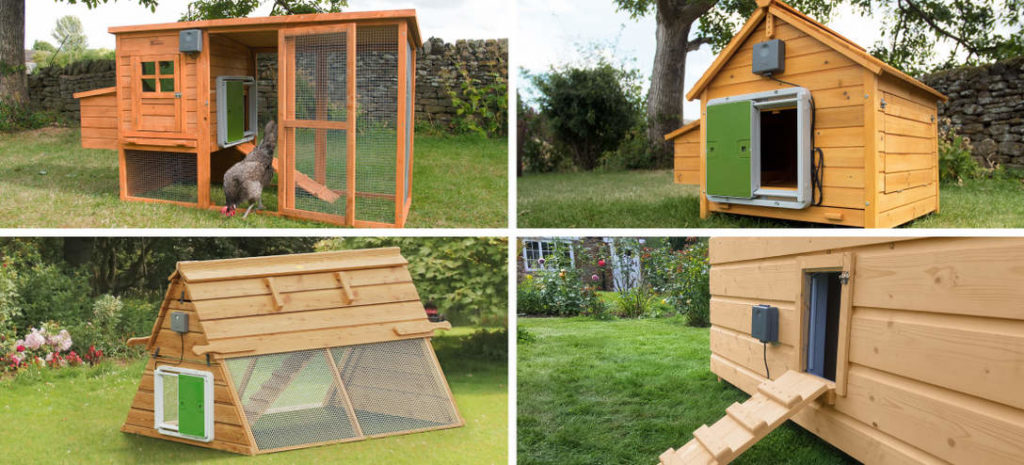 Omlet Autodoor Fitted Wooden Coops