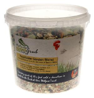 Nature's Grub Vegetable Garden Blend - 1.2kg