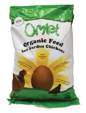 Organic Omlet Chicken Feed 10kg