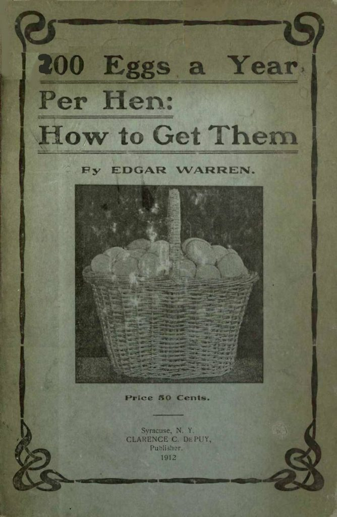 200 Eggs a Year per Hen