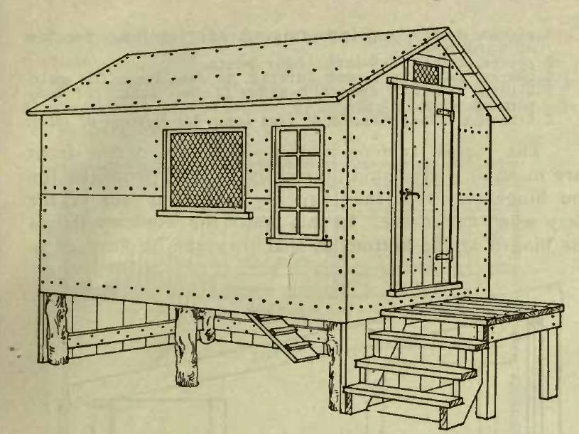 Elevated Poultry House