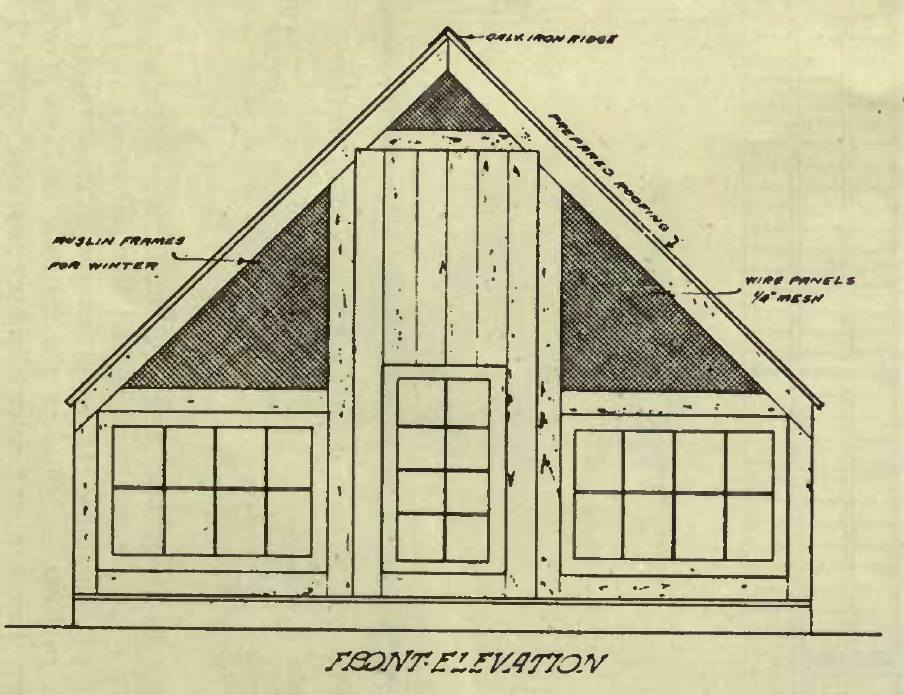 A-Shaped Poultry House