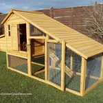 Stylish & Practical Chicken Coop up to 5 hens Sussex Hen House & Integral Run