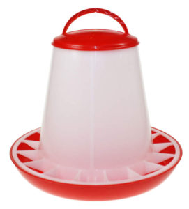 3kg Plastic Poultry Feeder with handle