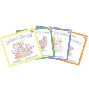 Four Little Hens Complete Book Set