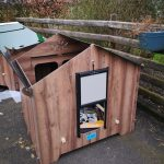 The Easicoop Gothic Chicken Coop from Chartley Chucks